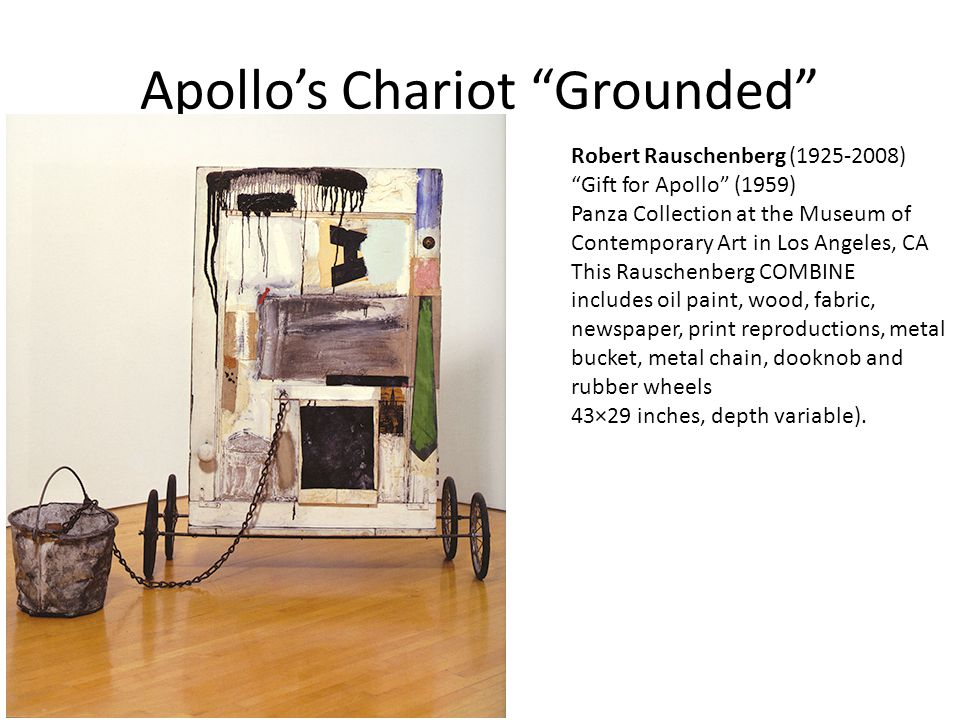 Apollo's Chariot Grounded