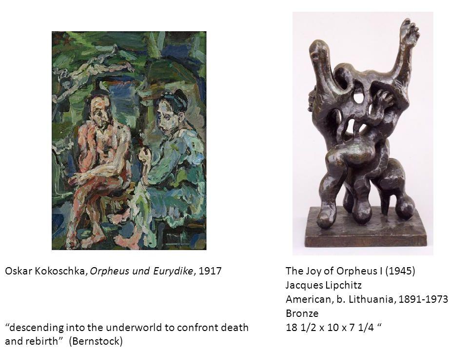 Oskar Kokoschka, Orpheus und Eurydike, 1917