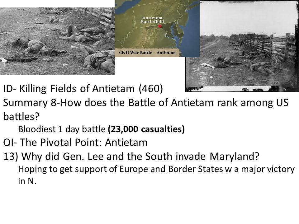 ID- Killing Fields of Antietam (460)