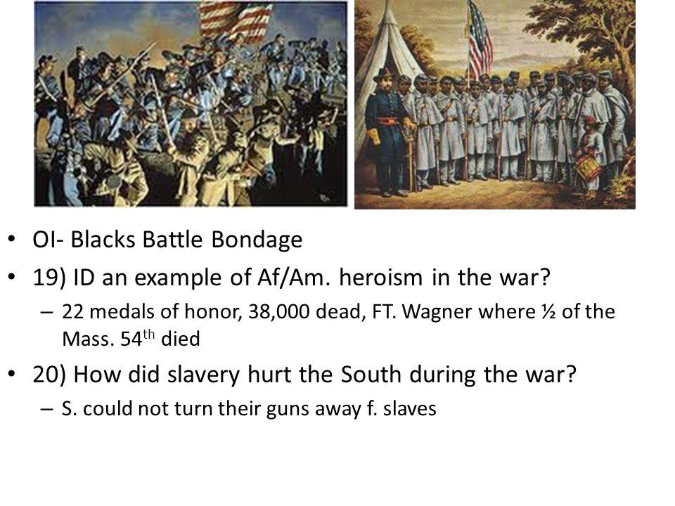 OI- Blacks Battle Bondage