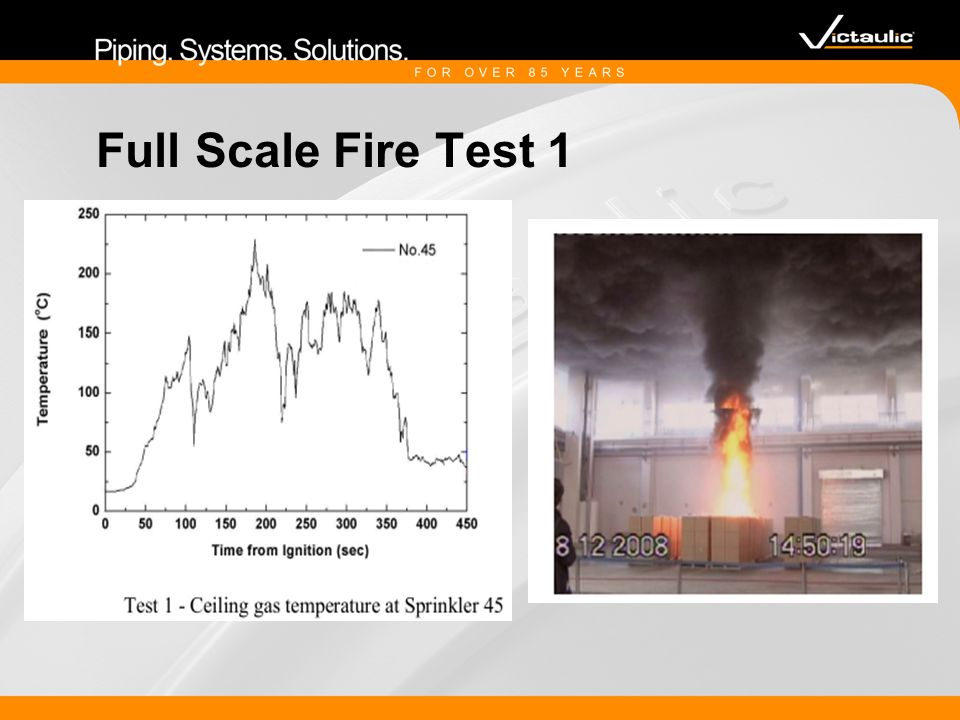 Full Scale Fire Test 1