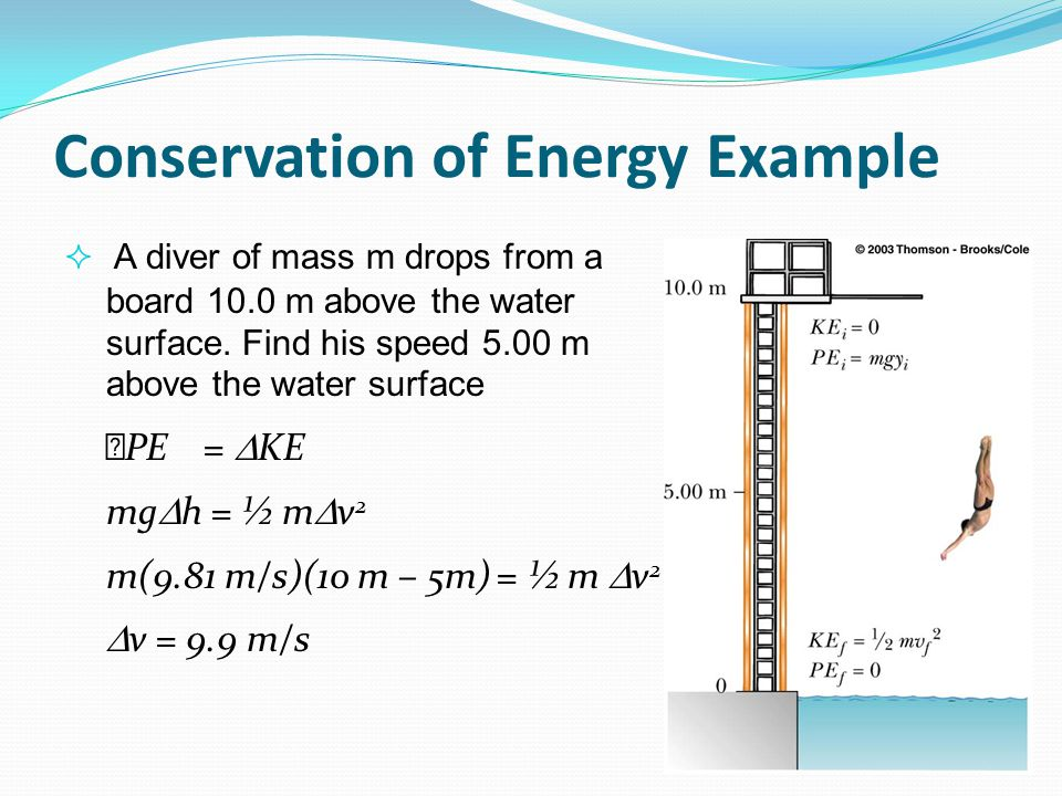 Conservation of Energy Example
