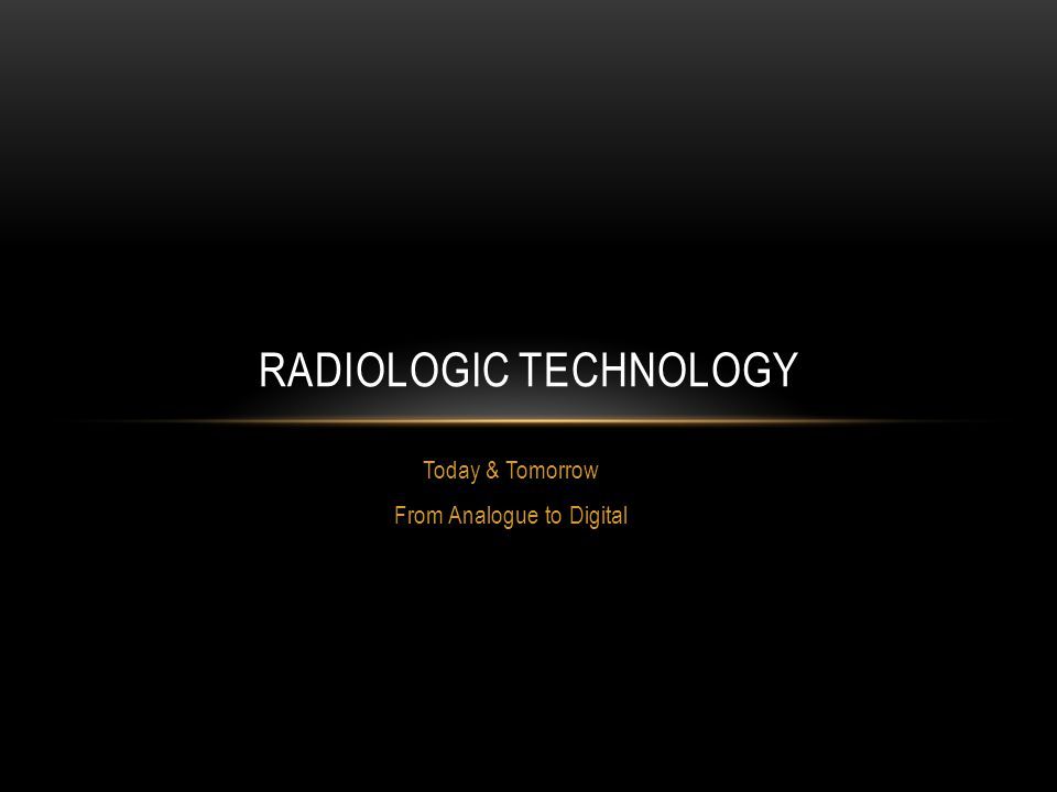 Radiologic Technology