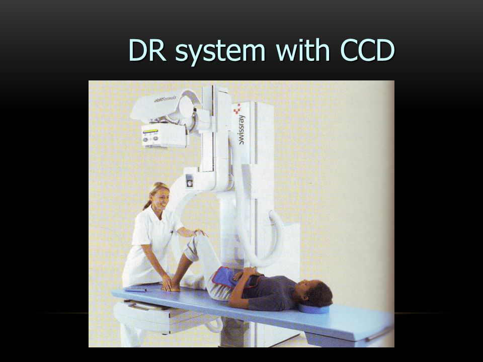 DR system with CCD