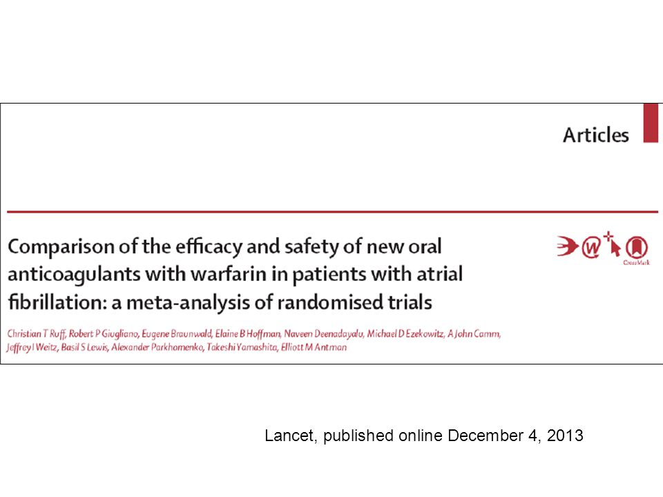 Lancet, published online December 4, 2013