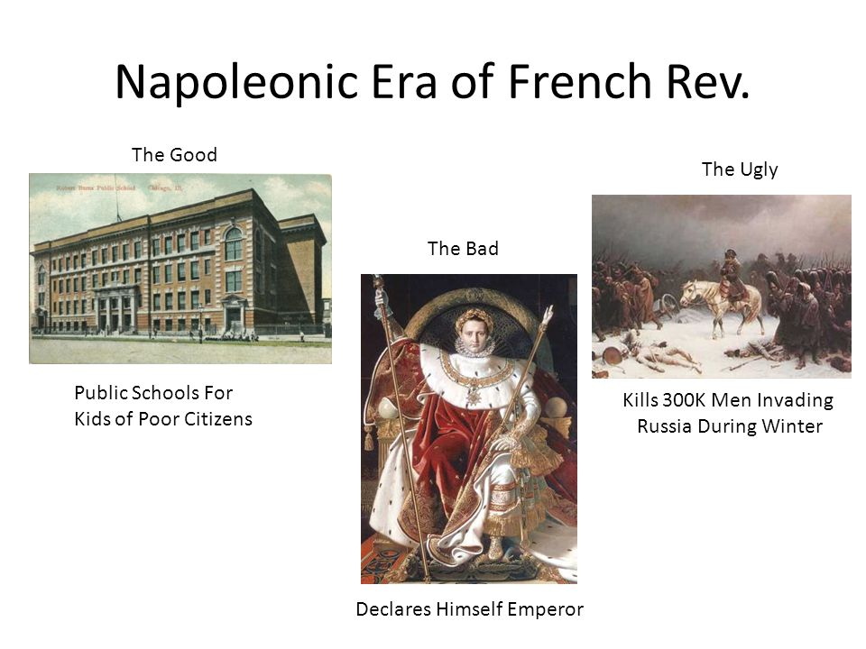 Napoleonic Era of French Rev.