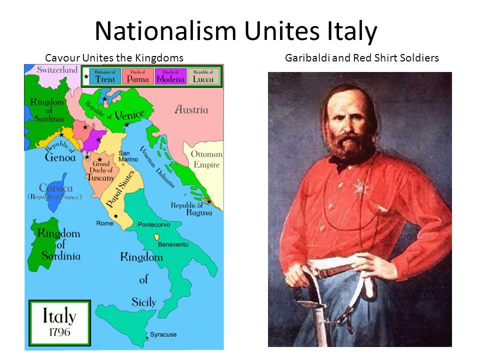 Nationalism Unites Italy