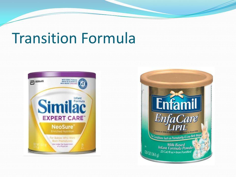 Transition Formula