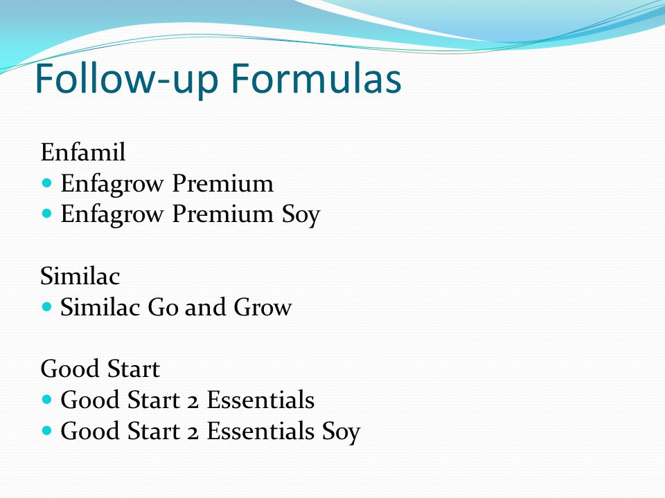 Follow-up Formulas Enfamil Enfagrow Premium Enfagrow Premium Soy