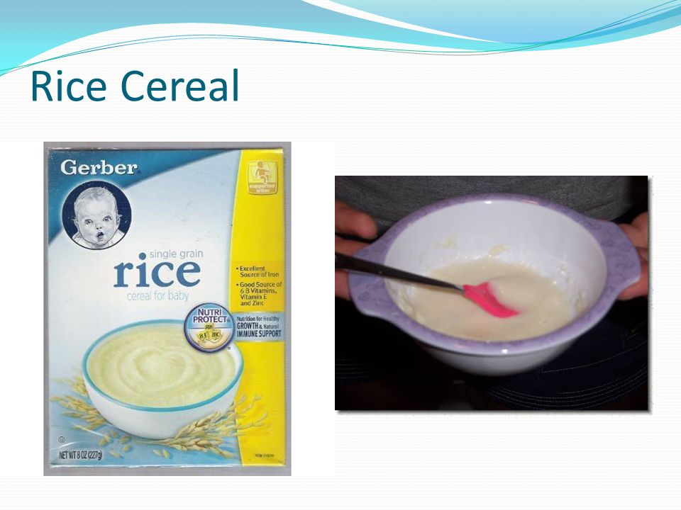 Rice Cereal