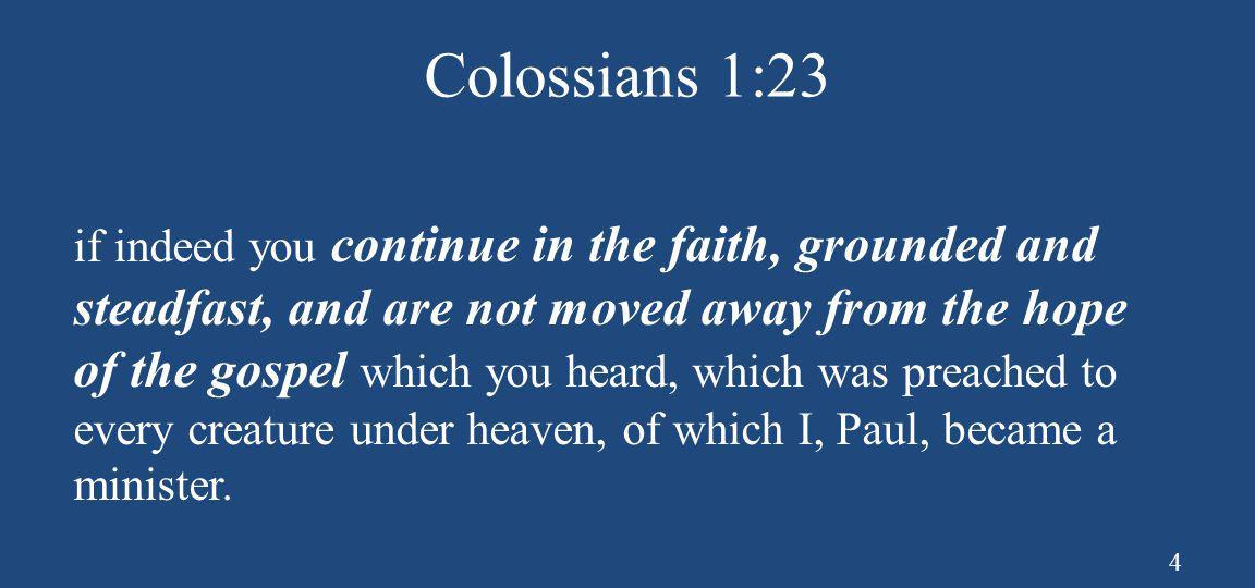Colossians 1:23