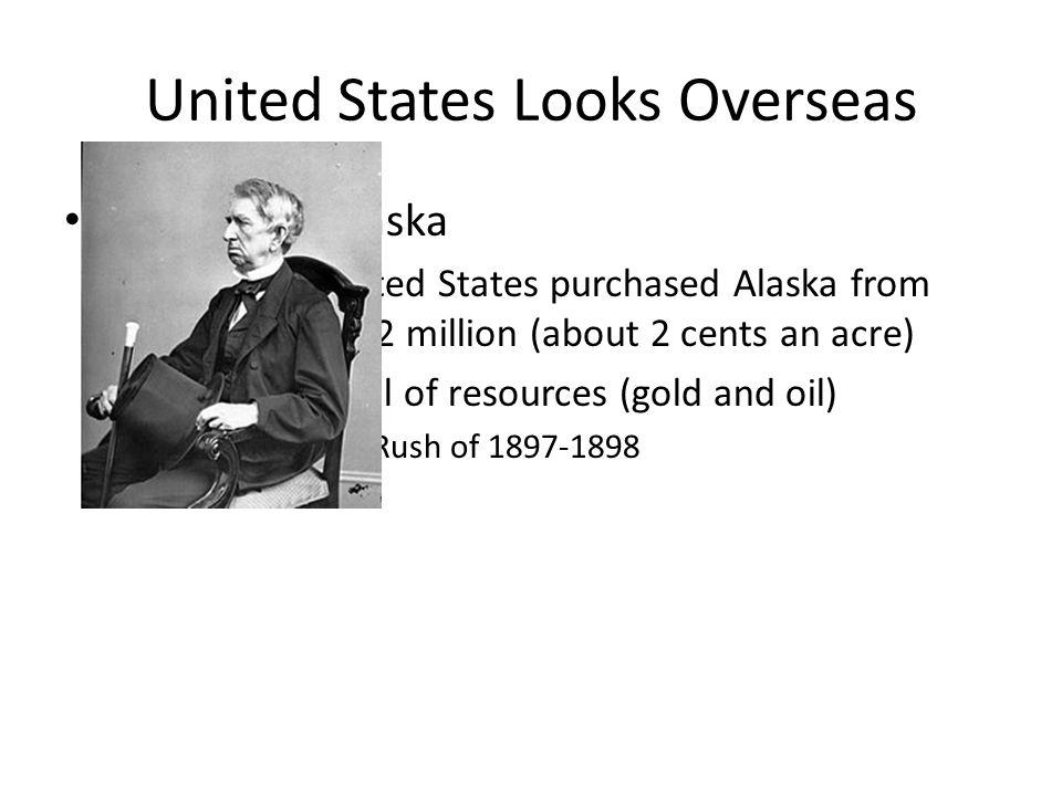 United States Looks Overseas