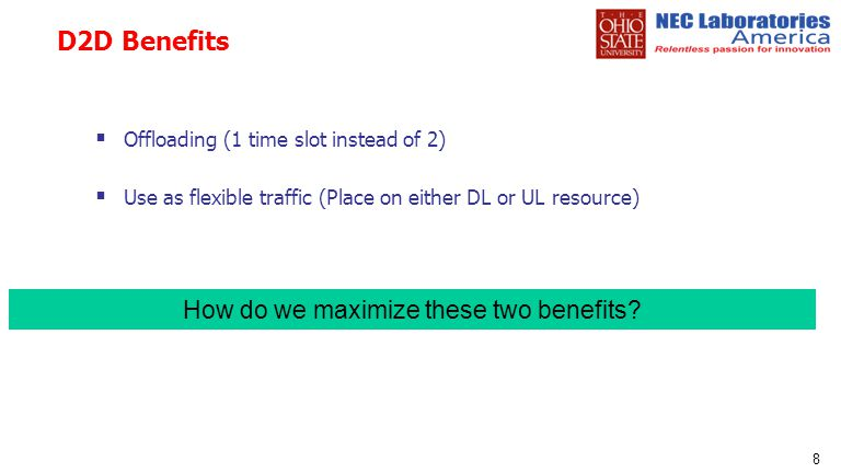 How do we maximize these two benefits