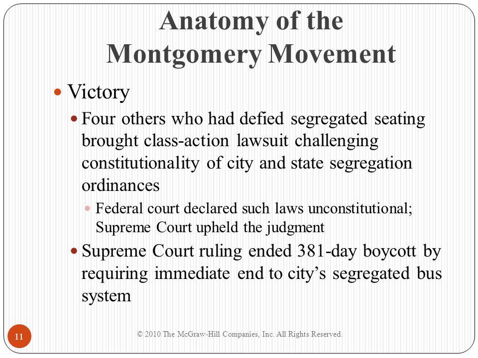 Anatomy of the Montgomery Movement
