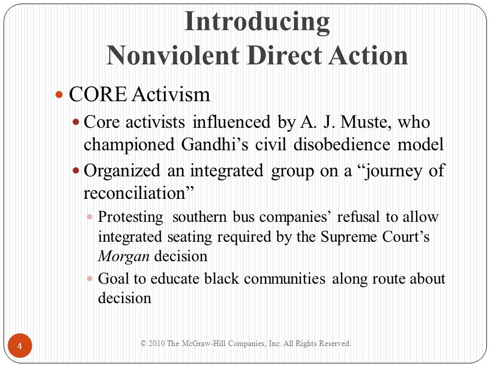 Introducing Nonviolent Direct Action