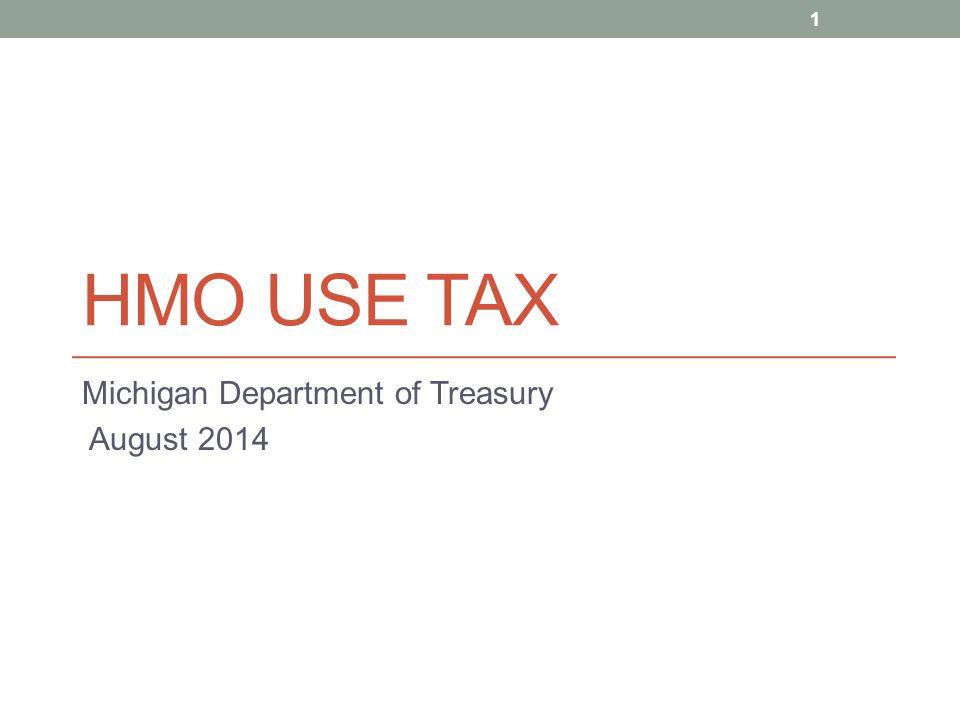 Michigan Department of Treasury August 2014