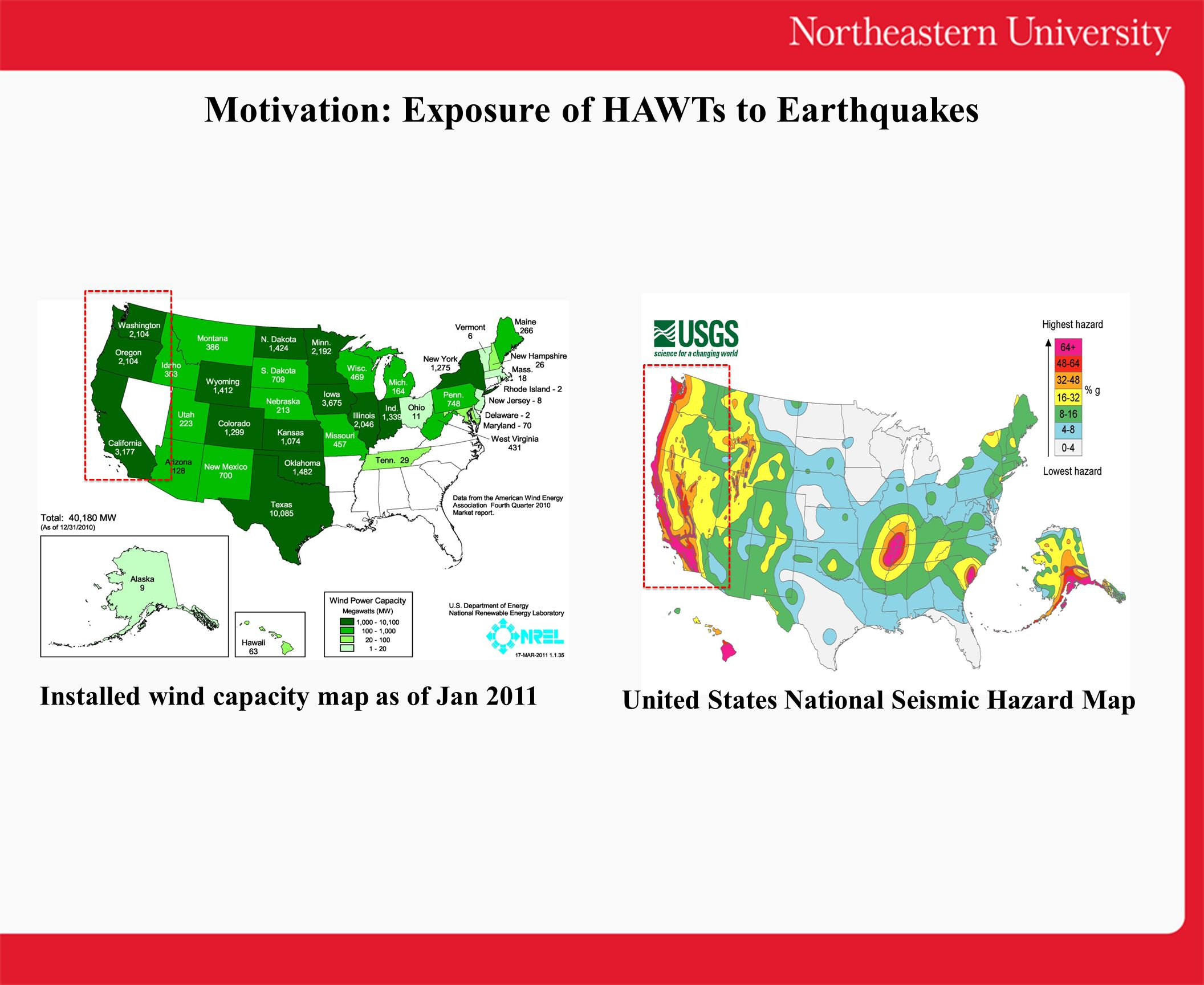 Motivation: Exposure of HAWTs to Earthquakes