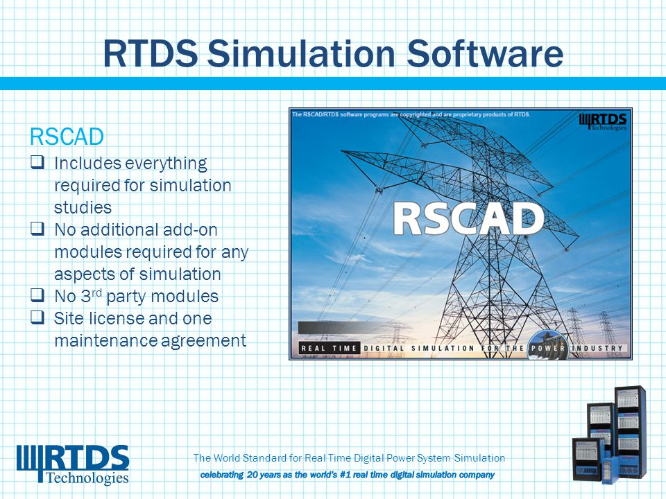 RTDS Simulation Software