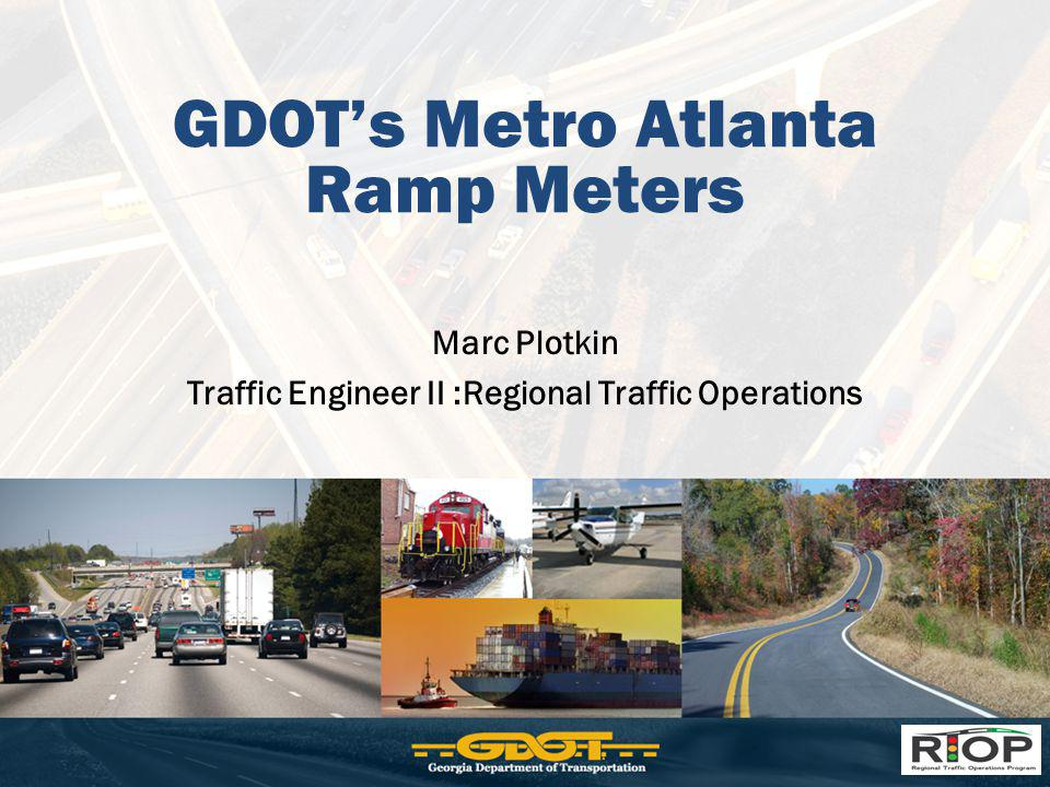 GDOT's Metro Atlanta Ramp Meters