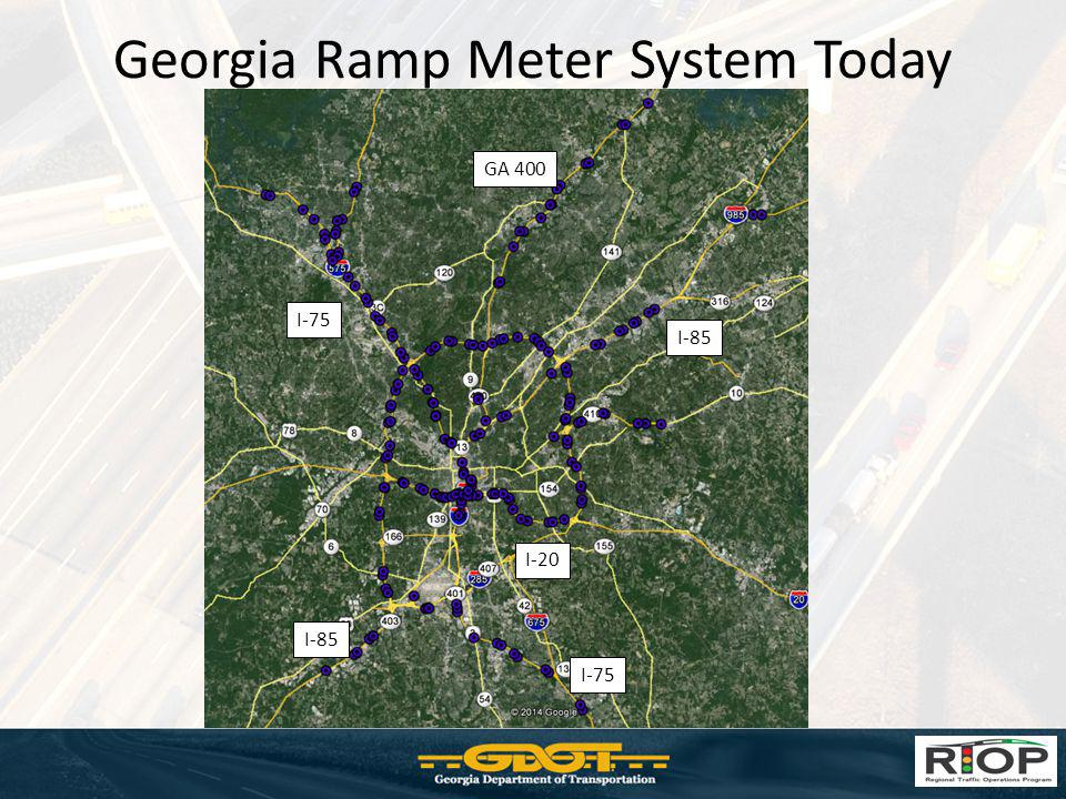 Georgia Ramp Meter System Today