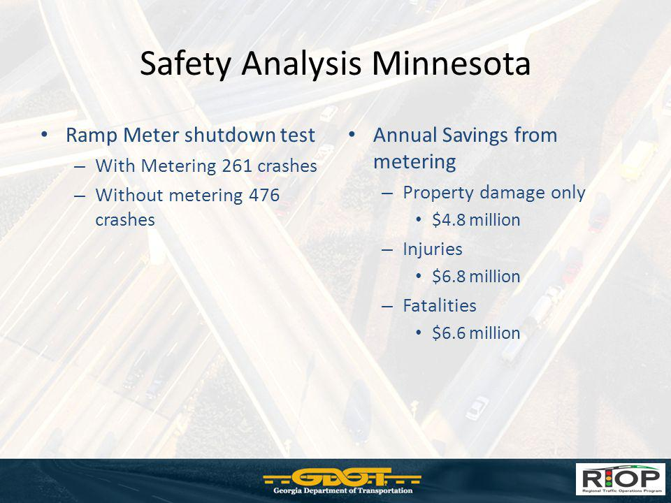 Safety Analysis Minnesota