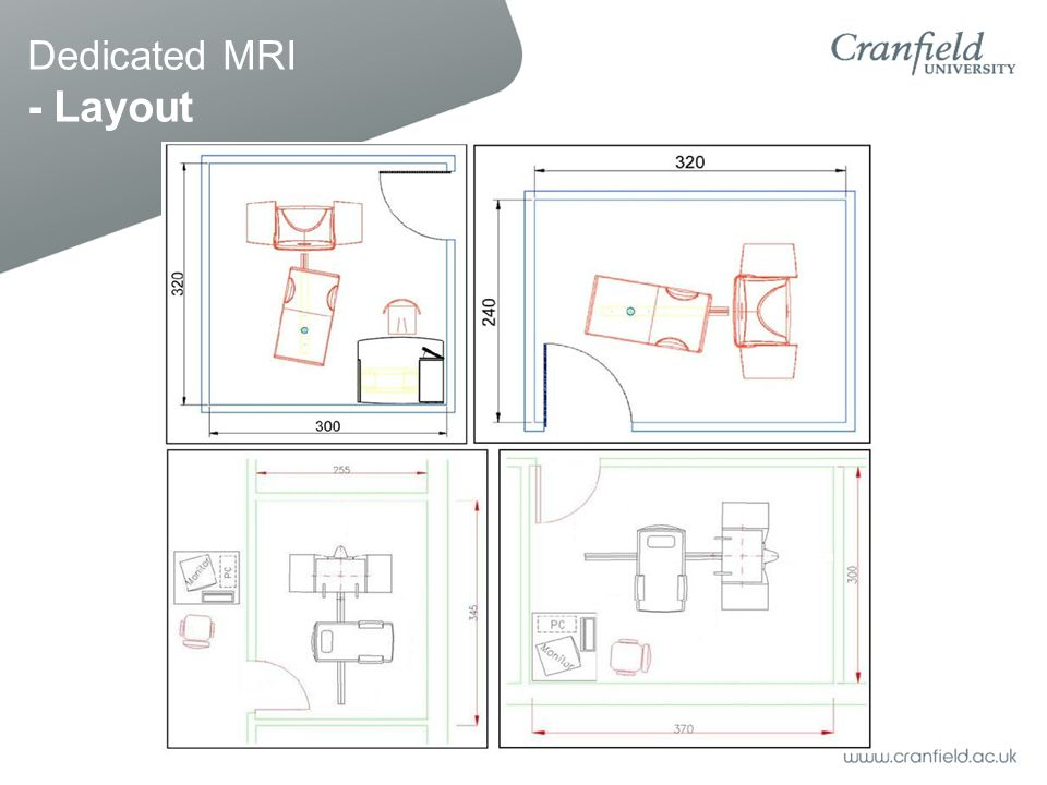 Dedicated MRI - Layout
