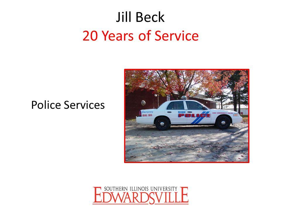 Jill Beck 20 Years of Service