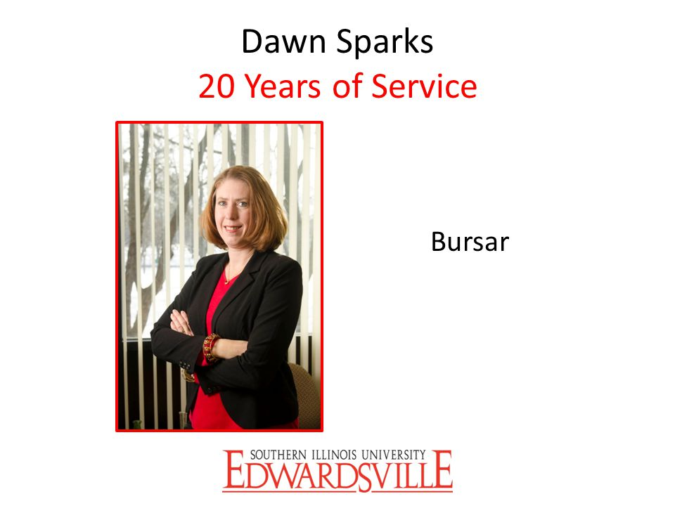 Dawn Sparks 20 Years of Service