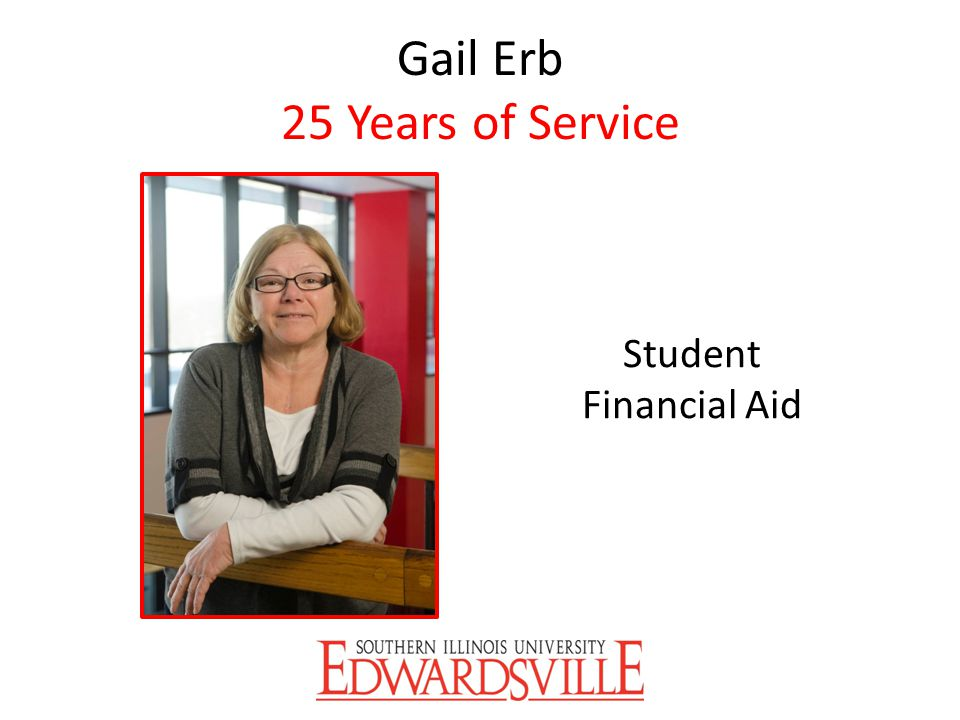 Gail Erb 25 Years of Service