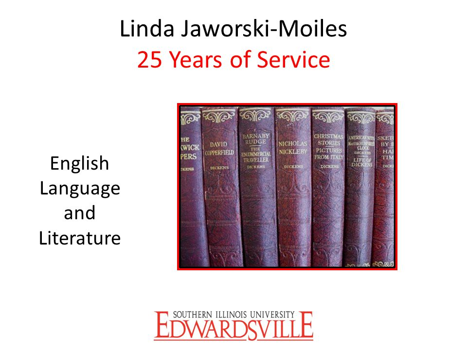 Linda Jaworski-Moiles 25 Years of Service