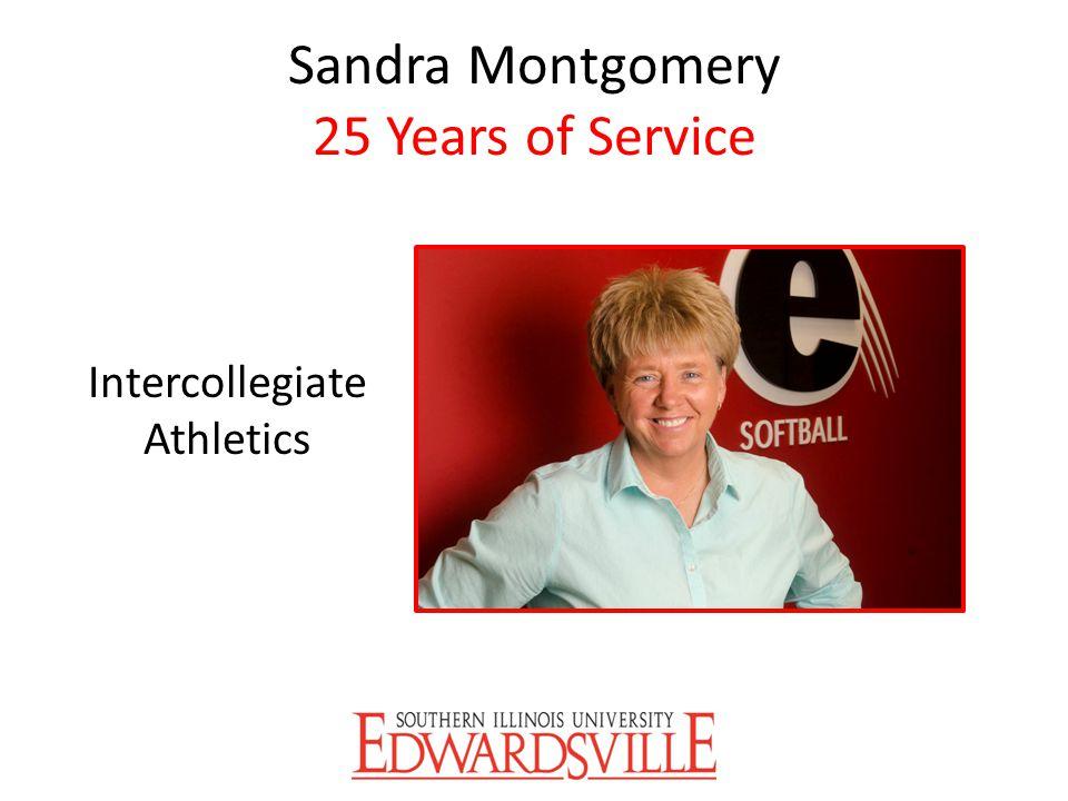 Sandra Montgomery 25 Years of Service