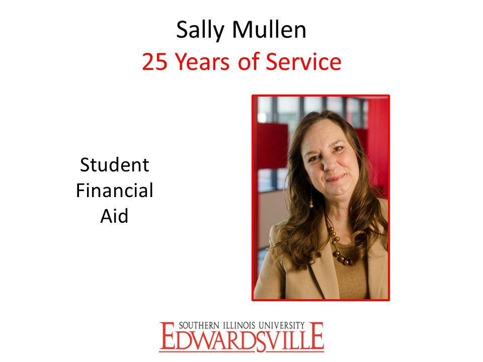 Sally Mullen 25 Years of Service