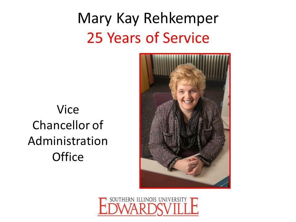 Mary Kay Rehkemper 25 Years of Service