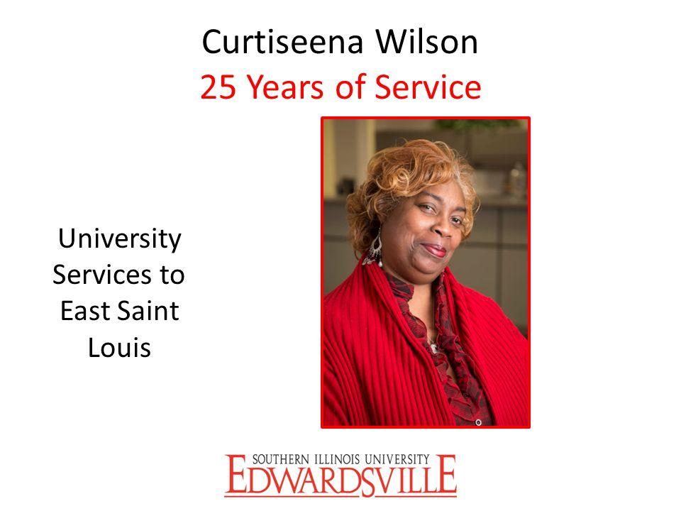 Curtiseena Wilson 25 Years of Service