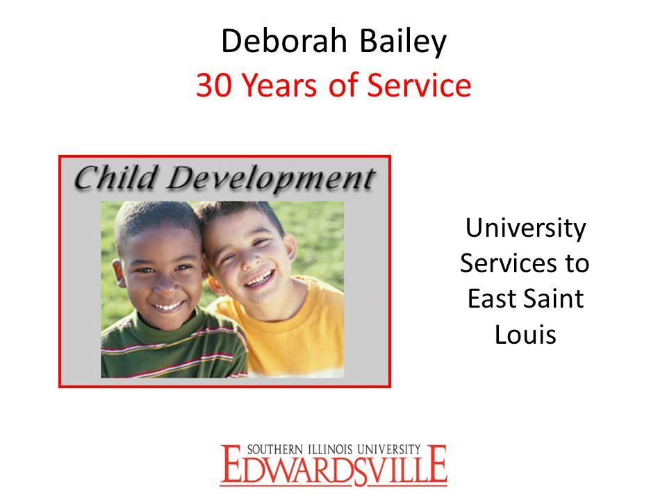 Deborah Bailey 30 Years of Service