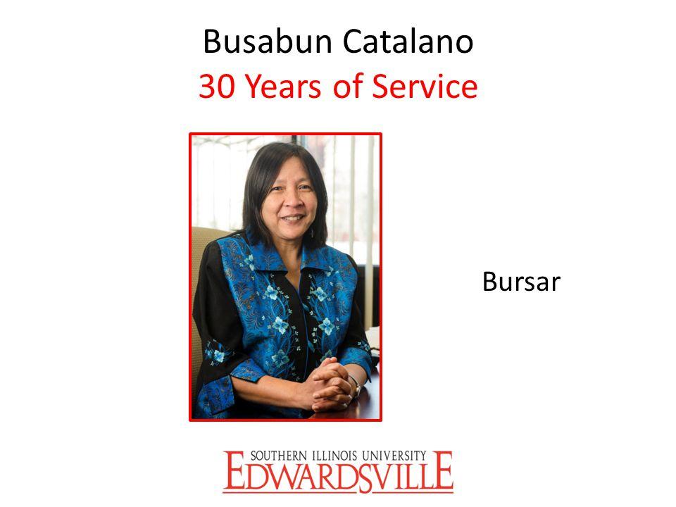 Busabun Catalano 30 Years of Service