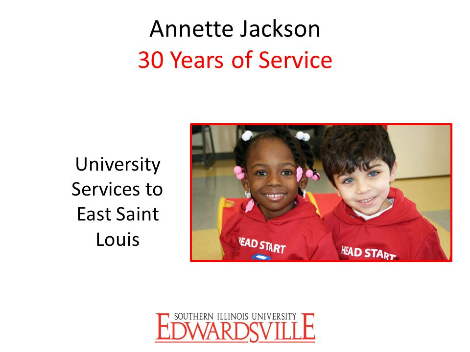 Annette Jackson 30 Years of Service