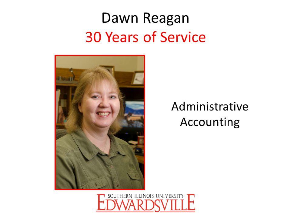 Dawn Reagan 30 Years of Service