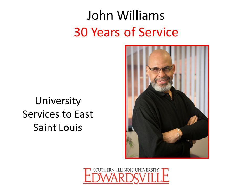 John Williams 30 Years of Service