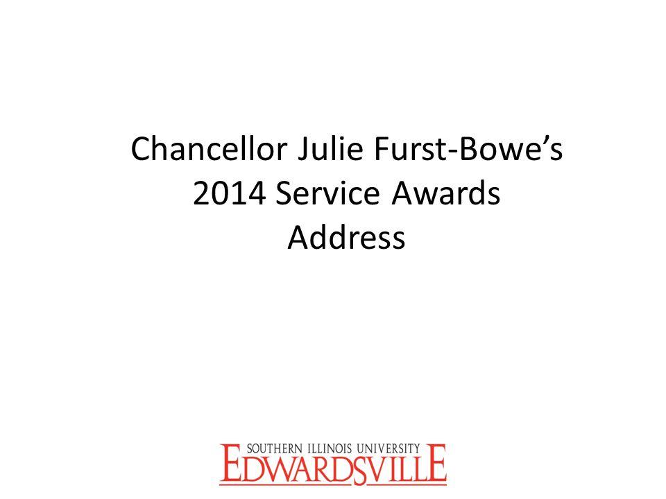 Chancellor Julie Furst-Bowe's