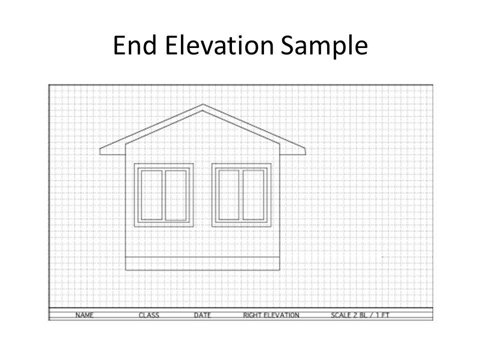 End Elevation Sample