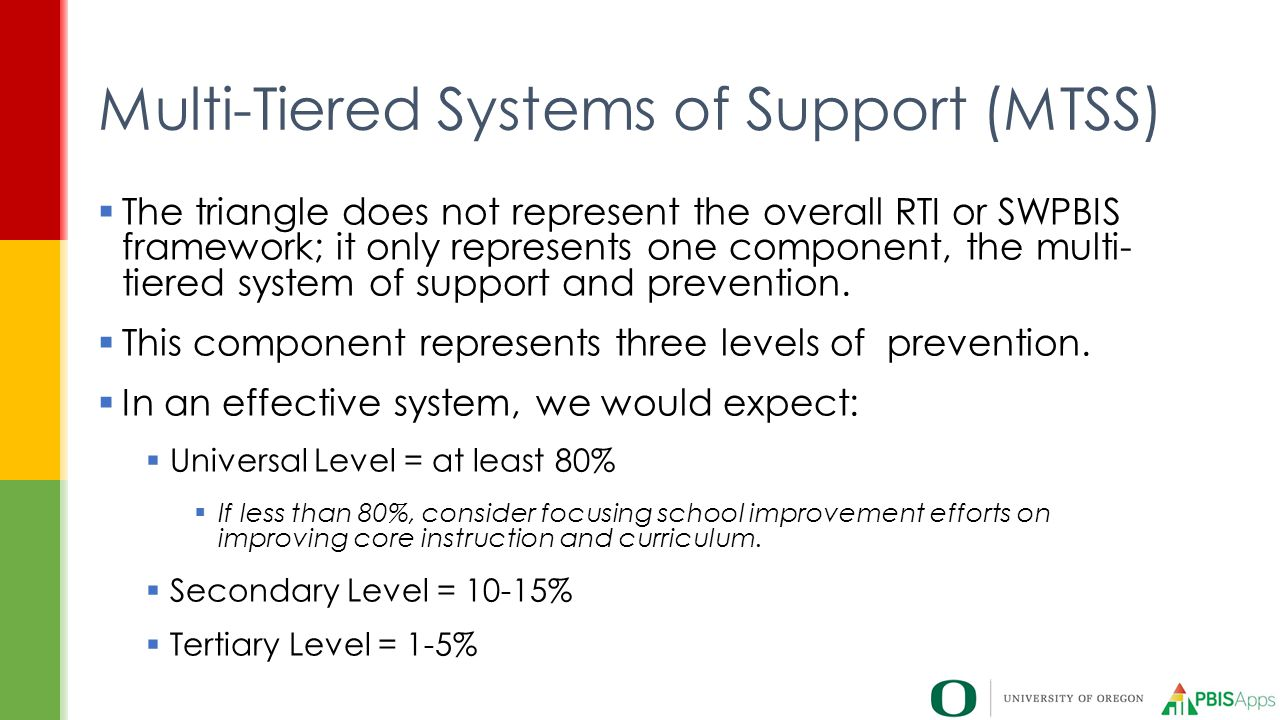 Multi-Tiered Systems of Support (MTSS)