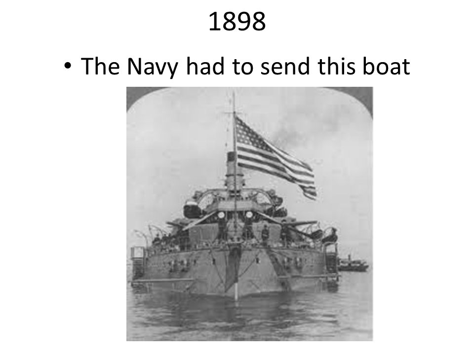 The Navy had to send this boat