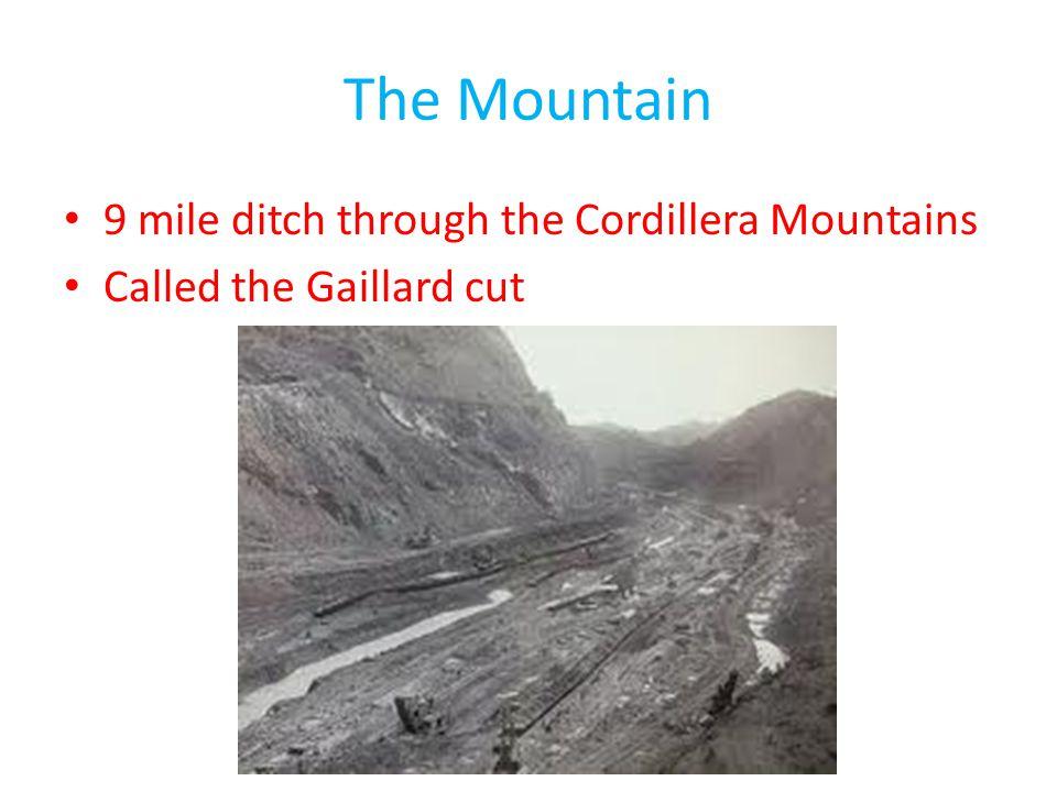 The Mountain 9 mile ditch through the Cordillera Mountains