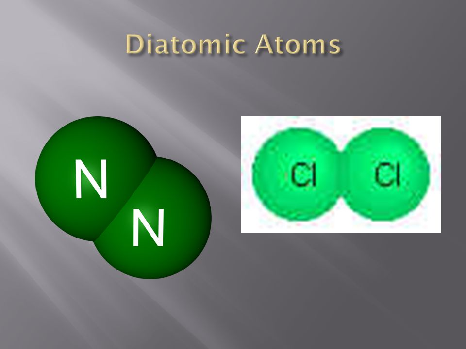 Diatomic Atoms
