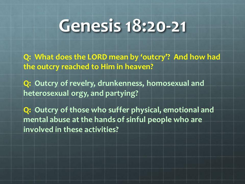 Genesis 18:20-21