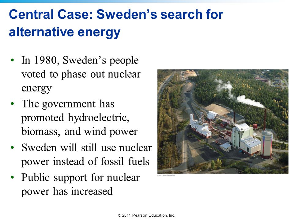Central Case: Sweden's search for alternative energy