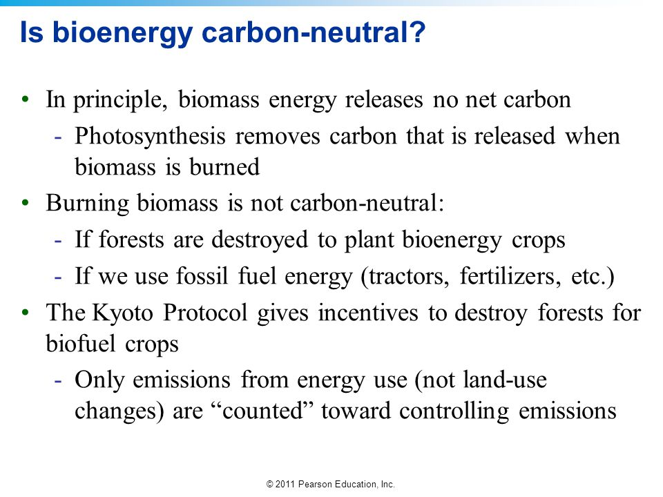 Is bioenergy carbon-neutral