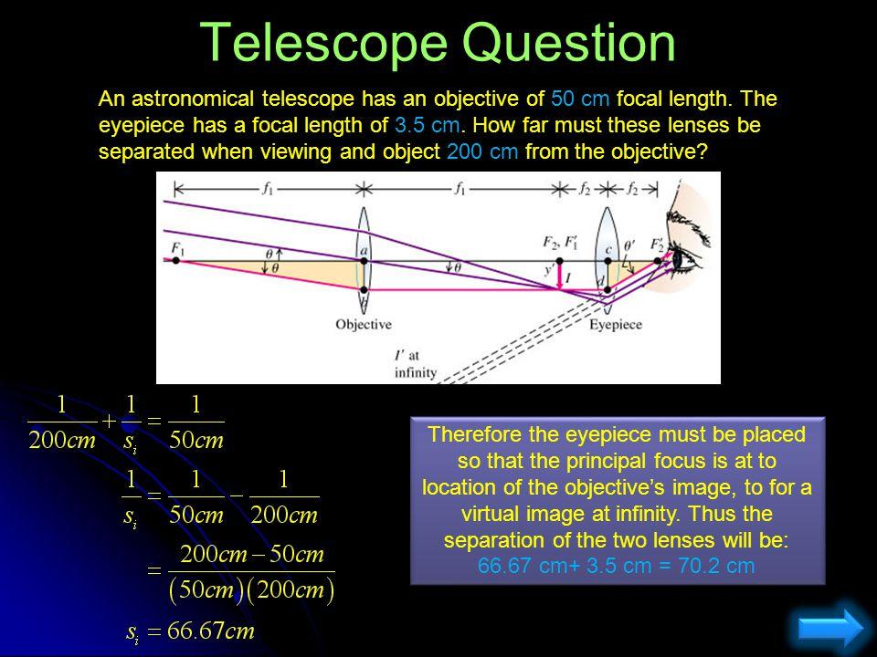 Telescope Question