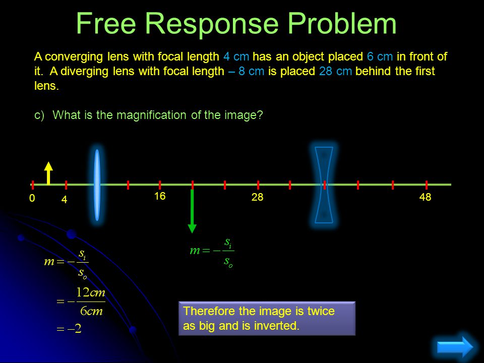 Free Response Problem